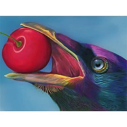 Flower Bird,19.7 X 27.6 Inch Arts, Crafts & Sewing 5D Diamond Painting Kits Full Drill Diamond Embroidery