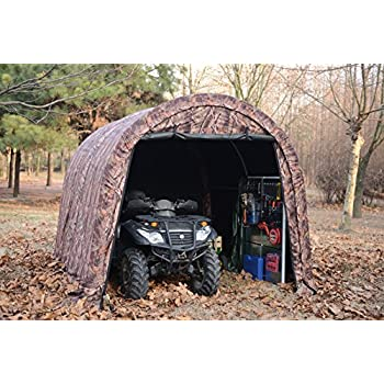 Amazon Com Camoflange Atv Shelter Mini Portable Garage