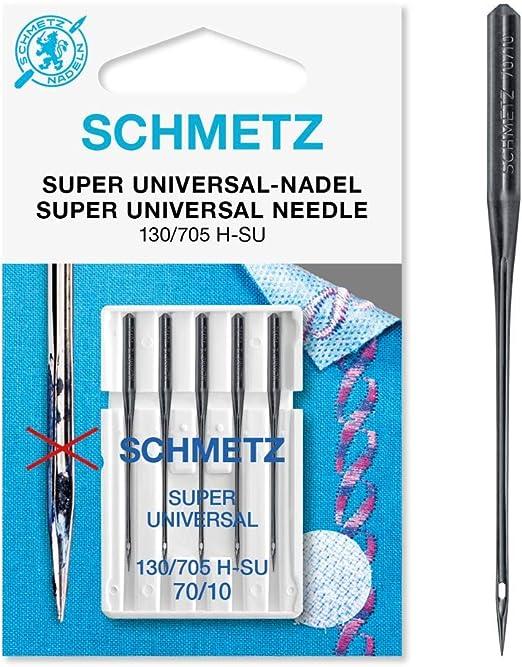 Schmetz - Agujas para máquina de coser (superuniversales, tamaño ...