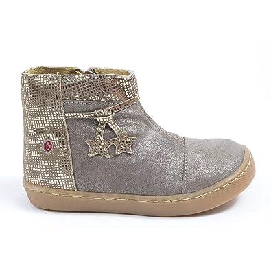 a693d3f47c3 GBB Bottines Fille Beige Renee  Amazon.fr  Chaussures et Sacs
