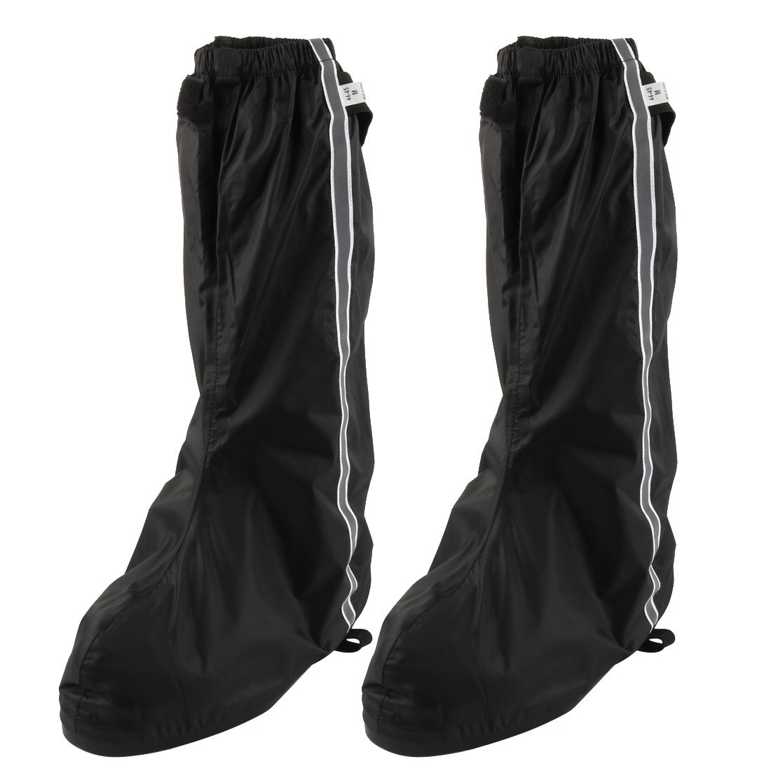 uxcell Pair Reflector Motorbike Men Rain Boot Shoes Cover