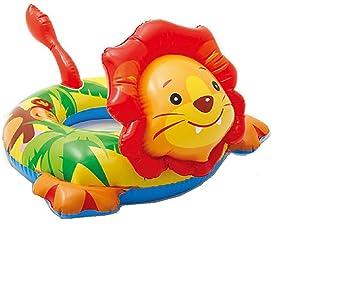 Baño Animal Hinchable flotador (para absoluten baño Diversión/León cabeza/cabeza de león