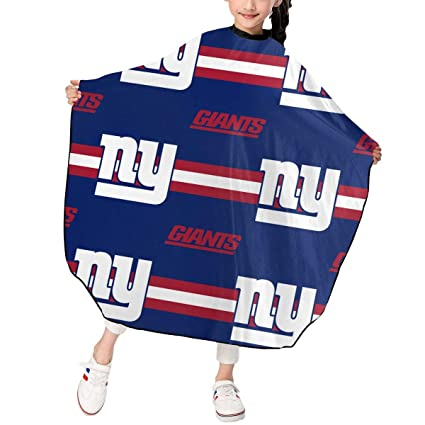 aa83451f Amazon.com: Sorcerer Design Kids Haircut Apron New York Giants ...