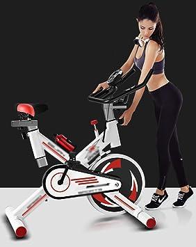 XP Bicicleta para adelgazar, Equipo de gimnasia para el hogar Silenciar Bicicleta de ejercicio Movimiento interior Perder peso Esculpir bicicleta de spinning,Blanco: Amazon.es: Bricolaje y herramientas