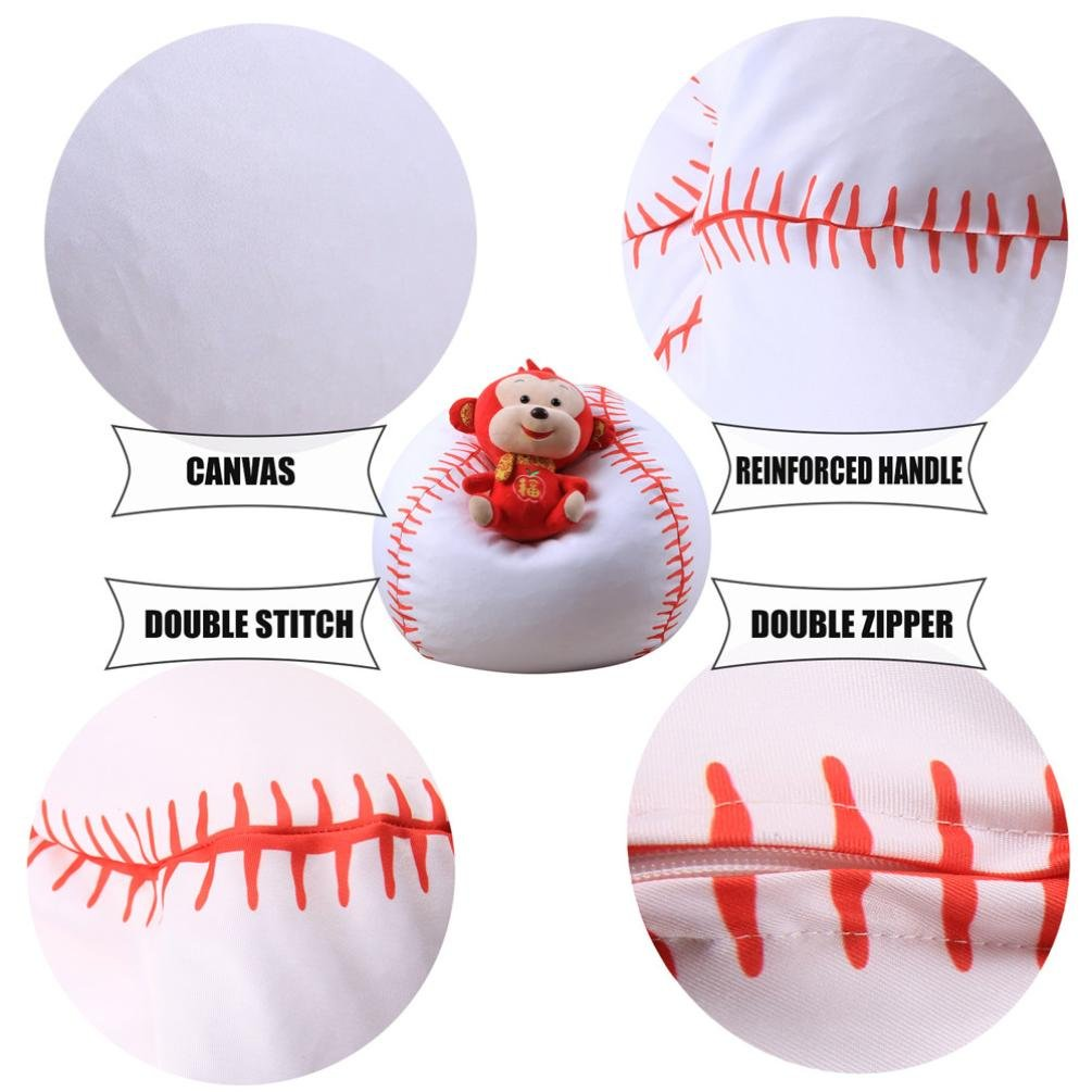 Cool Transer Stuffed Animal Storage Bean Bag Basketball Shape Alphanode Cool Chair Designs And Ideas Alphanodeonline