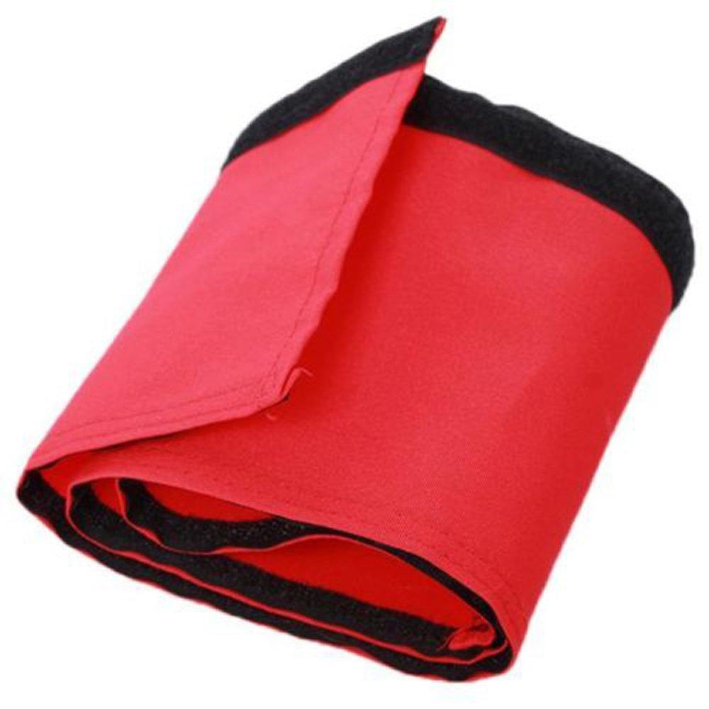 Hengsong Baby Stroller Hook Loop Recyclable Bumper Handle Bar Cover Stroller Handle Handlebar Sleeve Cover (Red) Mei_mei9 D-34