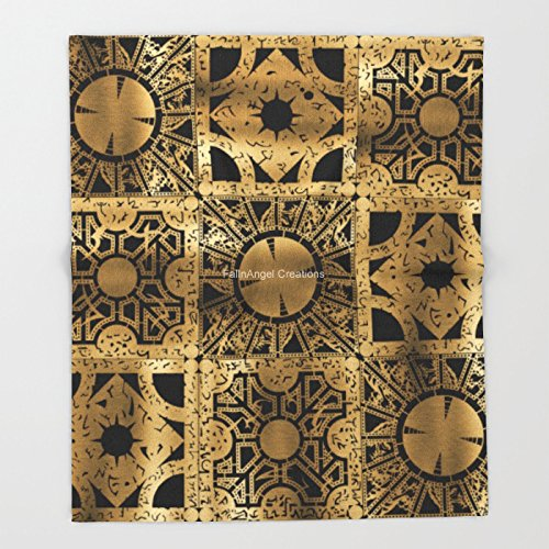 """Price comparison product image Super Soft Hellraiser Throw Blanket, Lament Configuration, 3 Sizes Available (51"""" x 60"""")"""