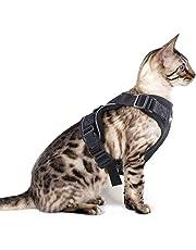 Eagloo Geschirr für Katzen Katzengeschirr Kleine Katze Katzengarnitur Ausbruchsicher Welpengeschirr Soft Kaninchengarnitur Katzenweste Verstellbar Schutz Kitten Hunde Chihuahua Cat Harness