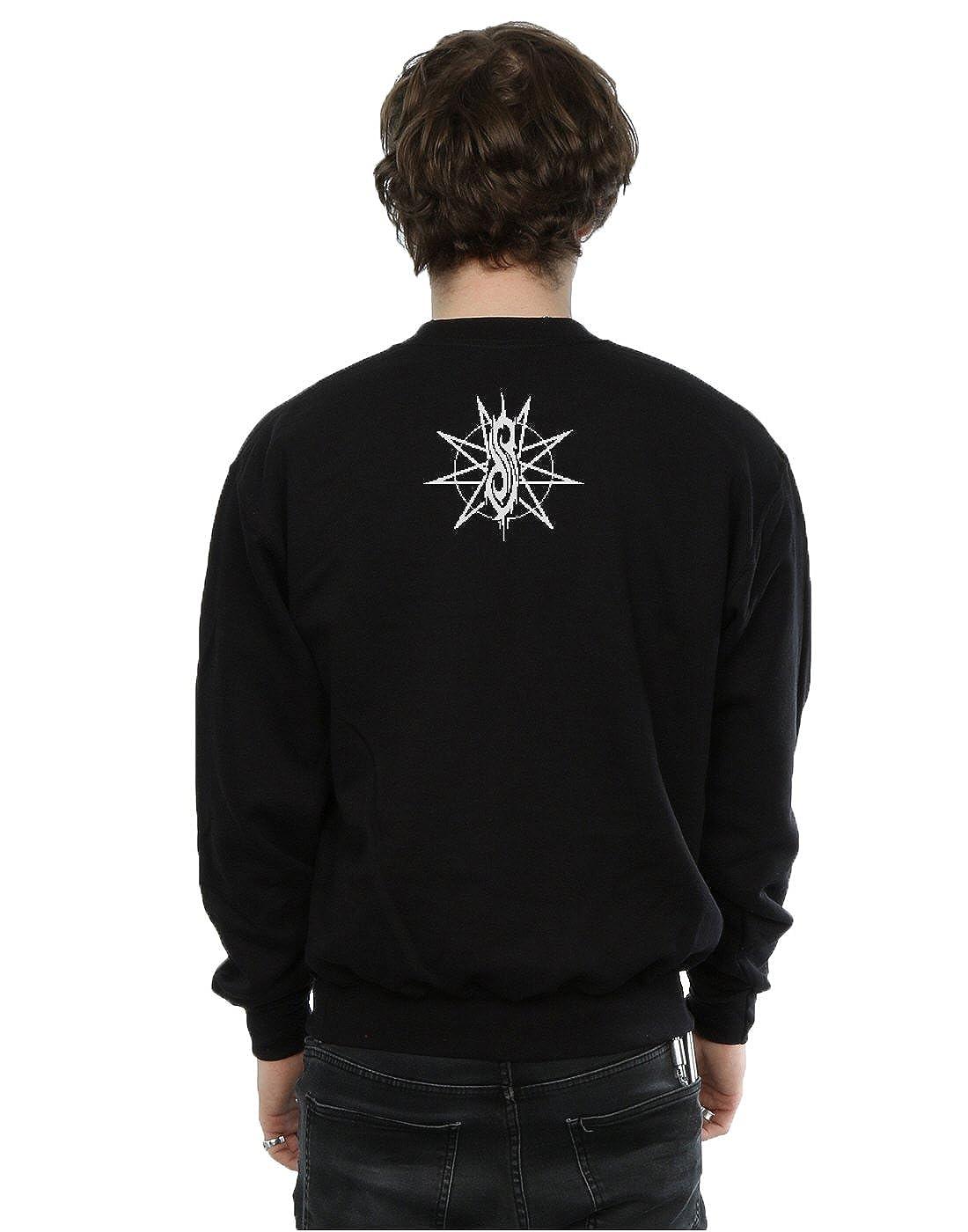 Slipknot Herren Logo Christmas Sweatshirt