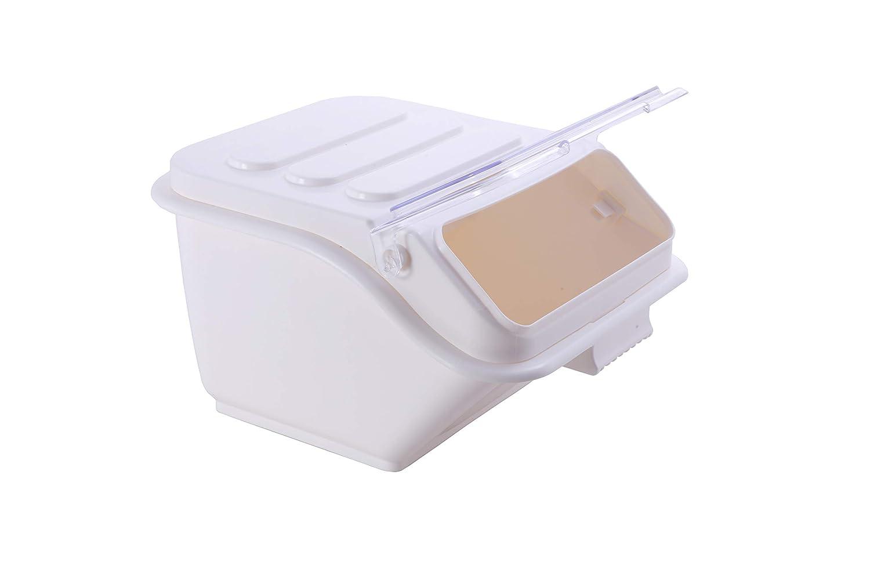 Hakka Commercial 40-Cup ProSave Shelf-Storage Ingredient Bin with Scoop,Stackable