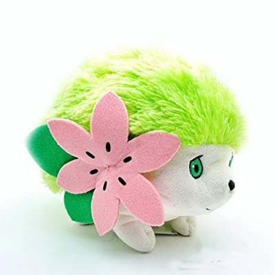 Generic Shaymin Plush Stuffed Animals Figure Doll: Toys & Games