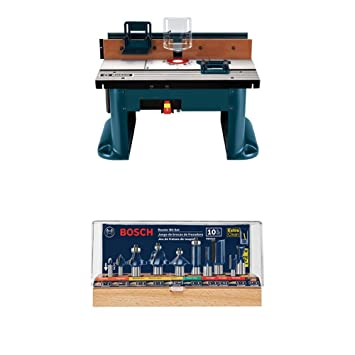 Bosch ra1181 benchtop router table w router bit set amazon bosch ra1181 benchtop router table w router bit set keyboard keysfo Images