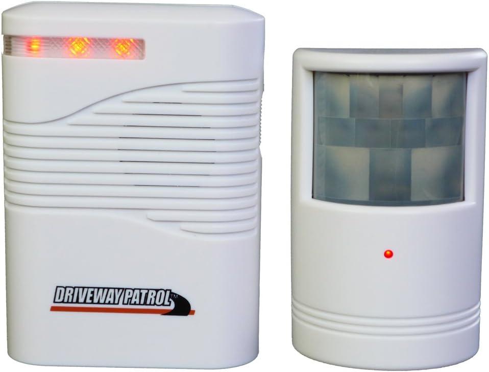 Bewegungsmelder mobil kabellos mit Alarm-Funktion IP44 Bewegungssensor Ton