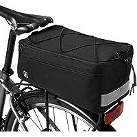 Lixada Fietstas, geïsoleerde kofferbakkoeltas, 8 liter, fiets-achter-zittas met reflecterende bagagedrager-pannier-tas…