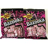 Original Bazooka Bubble Gum 4 Oz Bag (2 Pack - 8 Oz Total)