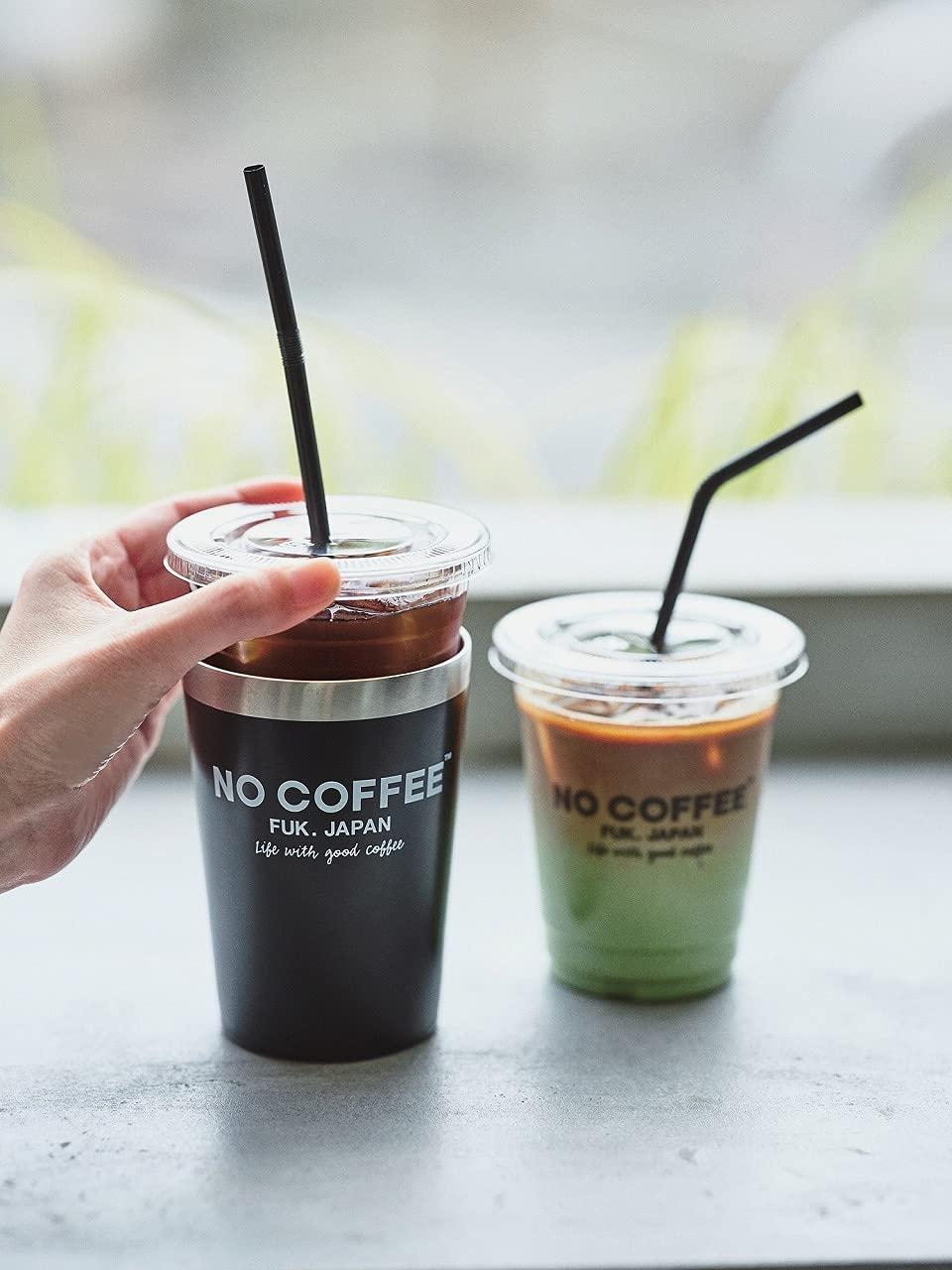 ムック本付録【ノーコーヒー(NO COFFEE) タンブラー】2021年7月29日発売!宝島通販限定カラーも登場
