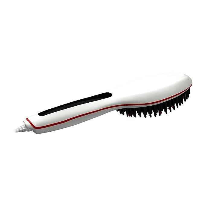 Kosee Cepillo de Paleta Térmico Alisador de Pelo Antiestático para un Alisado Rápido, Peinado (230V-110V): Amazon.es: Salud y cuidado personal
