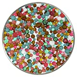 Mid-Century Modern Designer Collection Mix Frit Balls - 90COE, New Larger 1oz Size - Made from Bullseye Glass