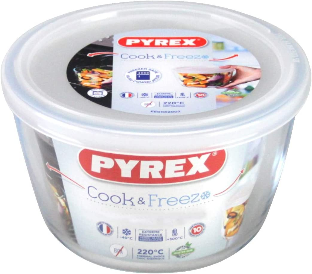Pyrex Recipient Red C//T 0,6L