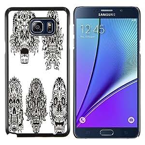 Dragon Case - FOR Samsung Note 5 N9200 N920 - Be alike flower - Caja protectora de pl??stico duro de la cubierta Dise?¡Ào Slim Fit