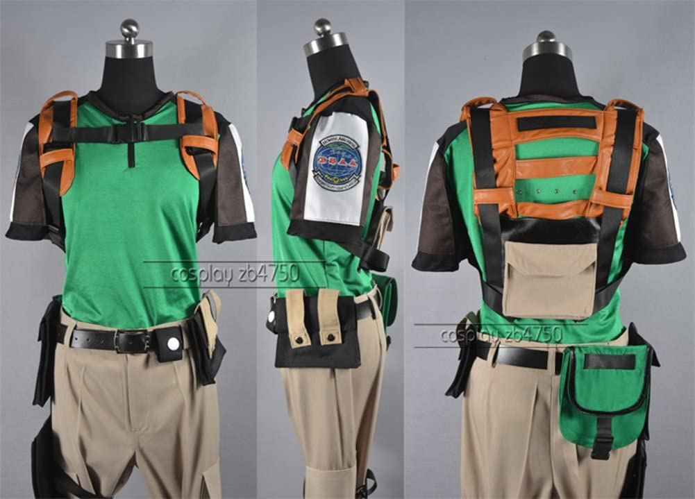 Resident Evil 5 Chris Redfield Cosplay Costume Amazon Ca