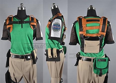 Resident Evil 5 Chris Redfield Cosplay Costume Amazon Ca