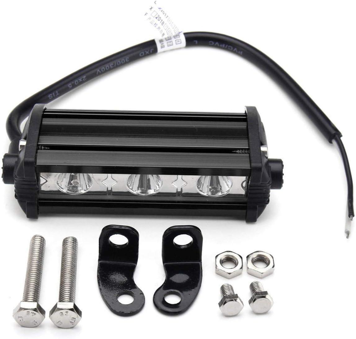 Willpower 4 Inch 15W Single Row LED Light Bar Low Profile Ultra Thin Slim Mini Spotlight Light for SUV ATV Truck Boat