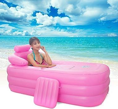 Generic Aufblasbare Badewanne faltbar tragbar aufblasbar f/ür Erwachsene PVC f/ür Zuhause und unterwegs