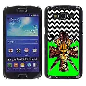 Dragon Case - FOR Samsung Galaxy Grand 2 - ?Held on so long - Caja protectora de pl??stico duro de la cubierta Dise?¡Ào Slim Fit