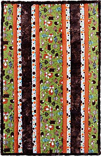 (Minky Fabulous 5 Woodland Cuddle Kit Quilt Kit Shannon Fabrics)