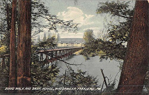 Erie Pennsylvania Waldameer Park Bath House Antique Postcard K48051 (Waldameer Park)