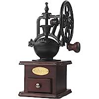 Molinillo de café manual Hierro fundido antiguo Manivela