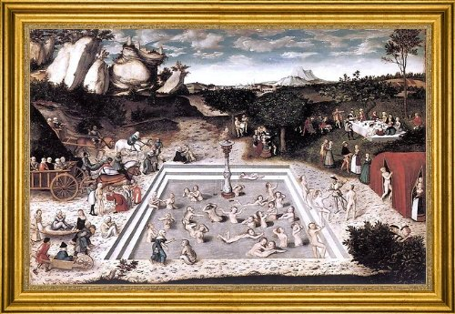 - Art Oyster The Elder Lucas Cranach The Fountain of Youth - 16.05