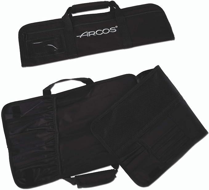 Compra Arcos 690200 - Bolsa con 4 compartimentos para cuchillos en Amazon.es