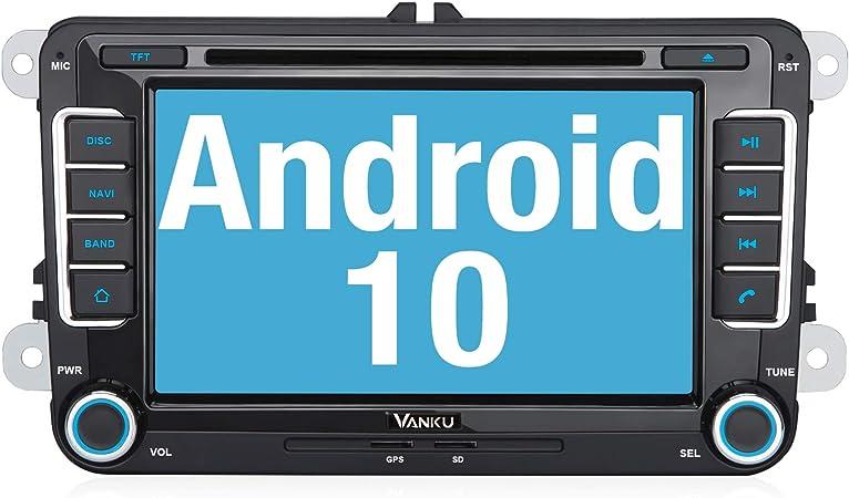Vanku Android 10 Autoradio Für Vw Golf 5 6 Radio Mit Elektronik