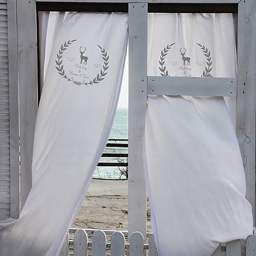 Personalisierter Vorhang I Rustic Living I Vorhang Landhaus I