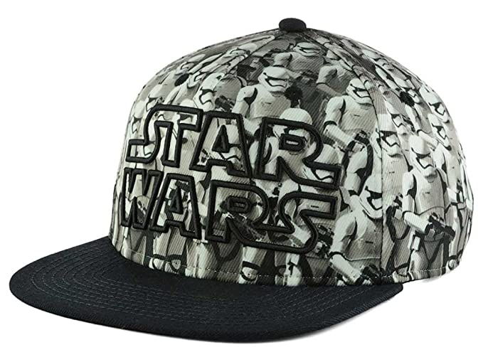 81eff813a7d99 Image Unavailable. Image not available for. Color  Bioworld Star Wars  Stormtrooper Army Snapback Hat