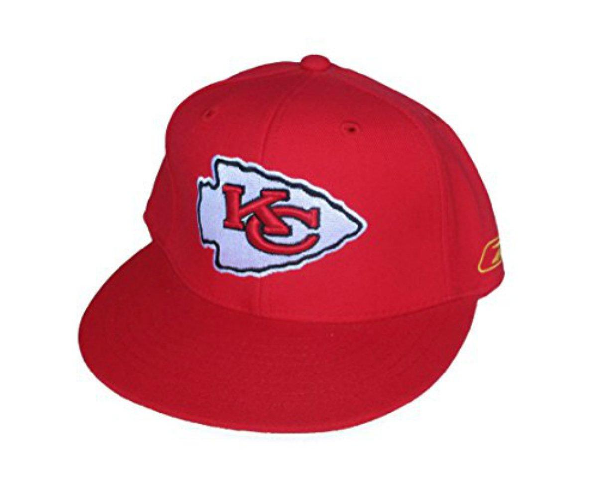 Kansas City Chiefs Fittedサイズ7 1 / 4矢印ロゴ帽子キャップ – レッド B073ZLQZC6
