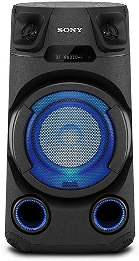 Sony Mhc V13 Leistungsstarkes Audiosystem Schwarz Elektronik