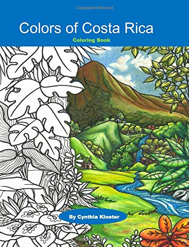 Colors of Costa Rica: Coloring Book