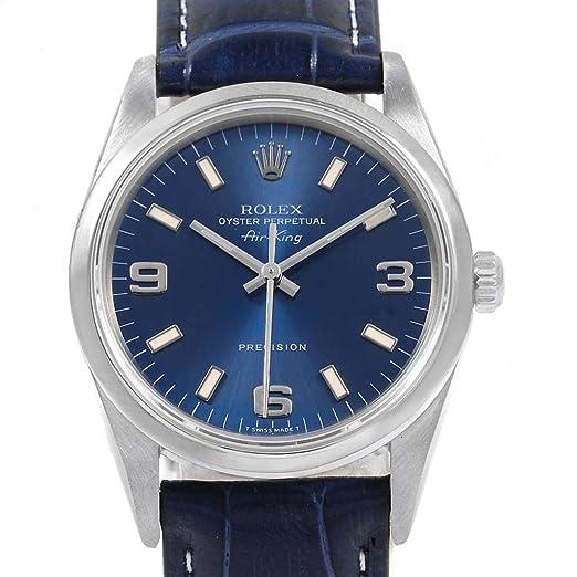 Rolex Air-King Automatic-Self-Wind - Reloj para Hombre (Certificado prepropietario