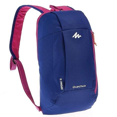 grande vendita 2f039 374b2 QUECHUA ARPENAZ, zaino per escursionismo da 10 litri, unisex, Blue / Purple