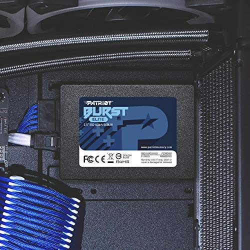 "Patriot Burst Elite SATA 3 120GB SSD 2.5"" Solid State Drive"