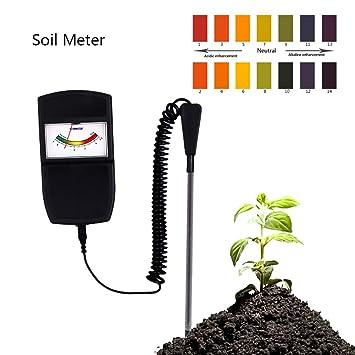 Amazon.com: Medidor de pH de suelo INVECHI – Medidor de ...