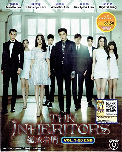 THE INHERITORS - COMPLETE KOREAN TV SERIES ( 1-20 EPISODES ) DVD BOX SETS