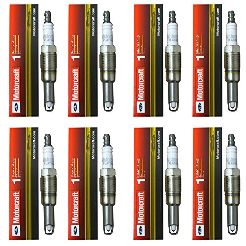 (AD Auto Parts New Motorcraft (SP515) Spark Plug, (Pack of 8))