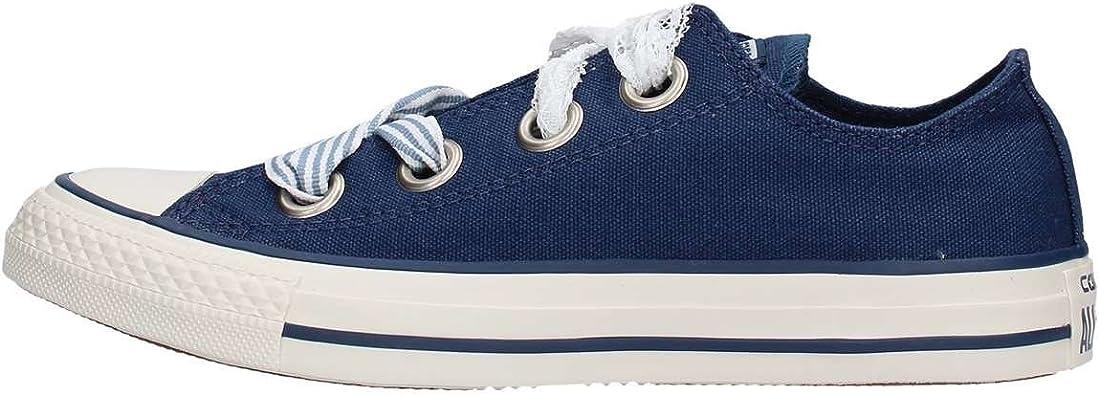 scarpe converse blu