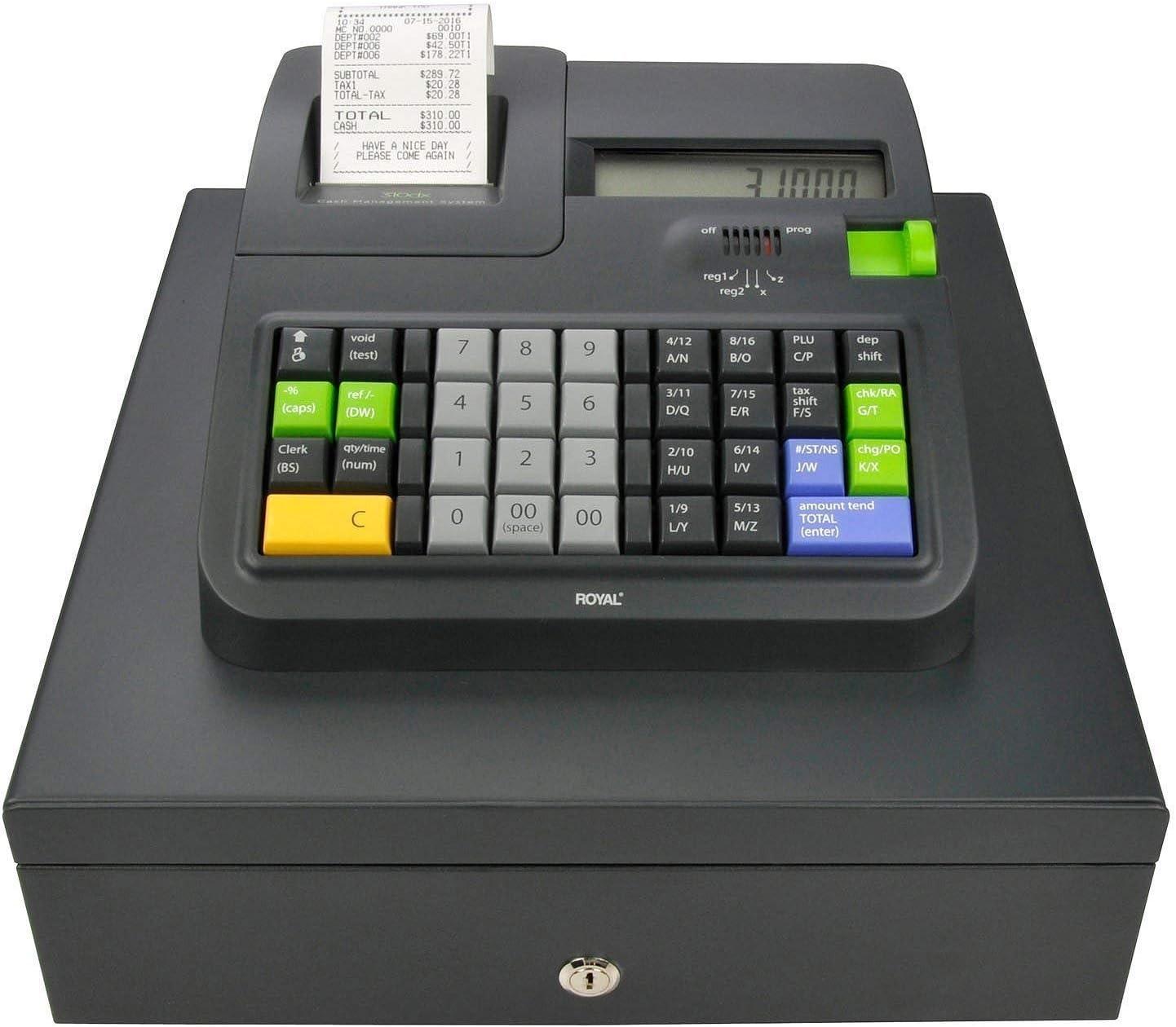 Royal 310DX Thermal Print Electronic Cash Register