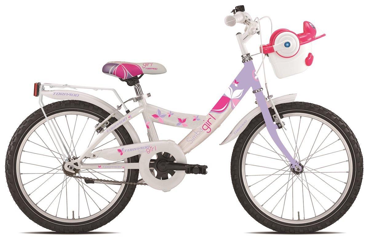 TORPADO Fahrrad 631 Simba 20 Mädchen 1 V Lila (Kinder)