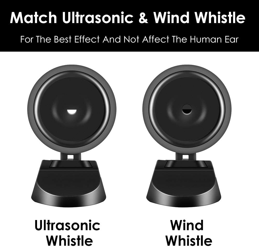 Include Ultrasonic /& Wind Whistle Car Safety Accessories Gift Ceepko Latest Upgrade 4PCS Save A Deer Whistles Deer Warning Devices for Cars /& Motorcycles